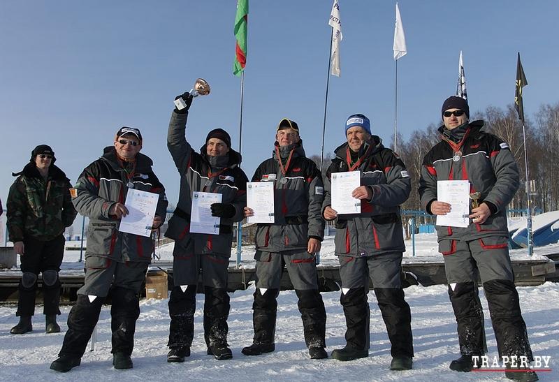 Первый этап Чемпионата Беларуси по лову рыбы со льда на мормышку 2014