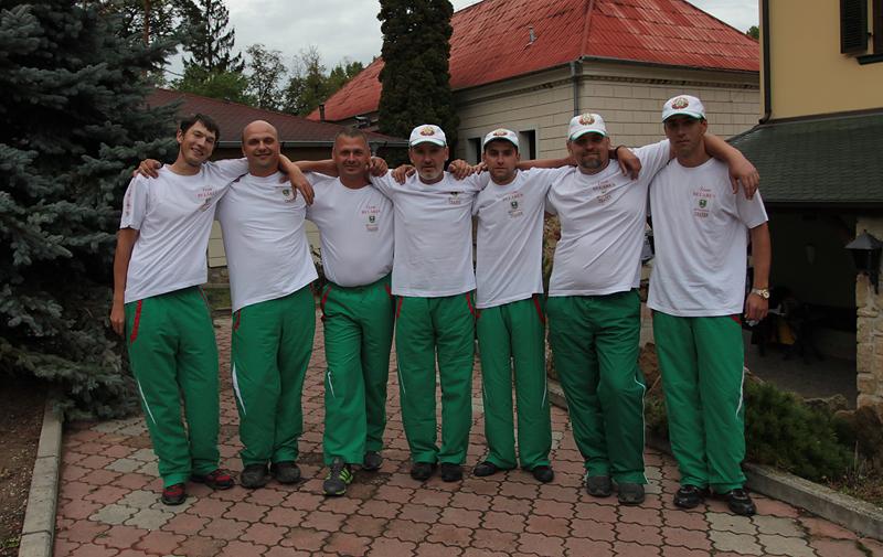 сборная Беларуси по поплавочной ловле на Чемпионате мира в Чехии, Ухерске-Градиште, 10-16 сентября 2012г