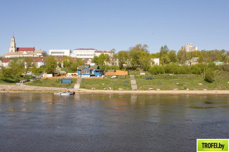 Гродно. Центральный пляж