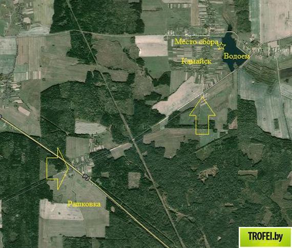 Балансериада 2013. Комайское водохранилище. Карта проезда