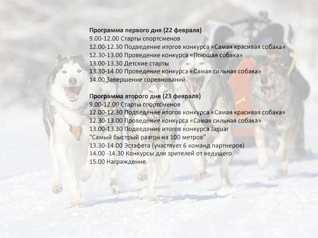 Программа соревнований Завируха-2014