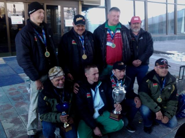 Триумфальная встреча Чемпионов мира на родине в Национальном аэропорту Минск