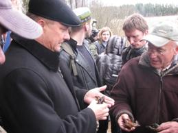 Акция сохраним широкопалого рака в Беларуси!