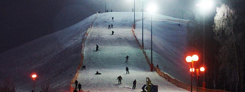 Ночные катания в Силичах