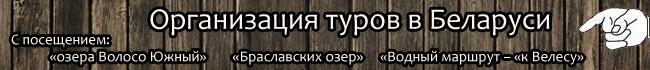 Организация отдыха в Беларуси